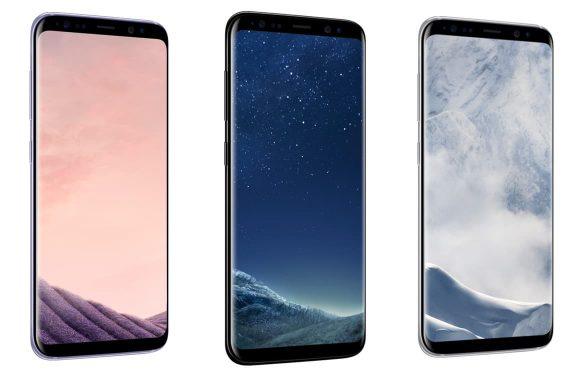 Samsung Galaxy S8 breekt voorverkooprecords.