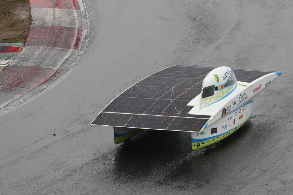 Zesde plaats op de European Solar Challenge voor Solar Team
