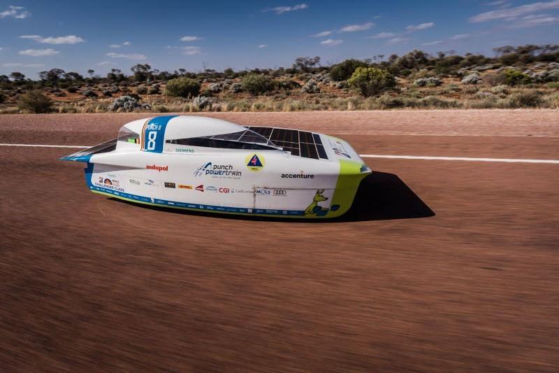 Punch Powertrain Solar Team staat voor een zware uitdaging in Chili