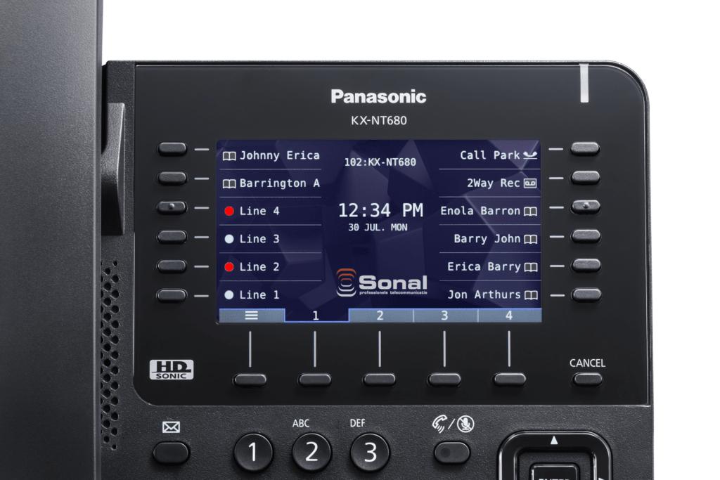IP telefonie: Panasonic lanceert de nieuwe KX-NT600 serie